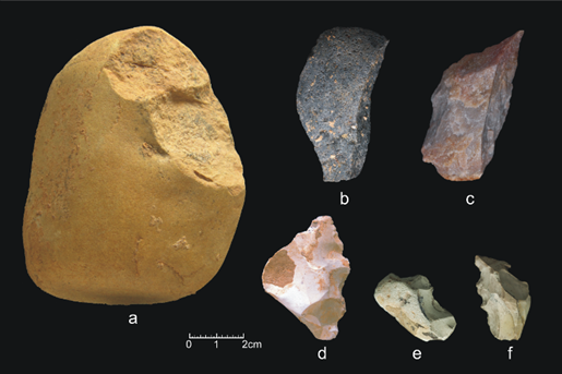 Lithic tools TD6